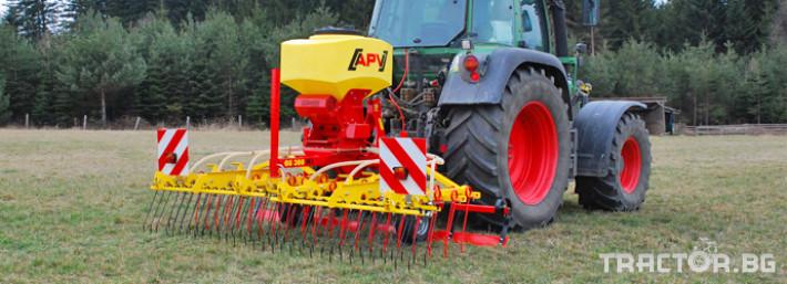 Брани APV GS 300 пасищна иглена брана 0 - Трактор БГ