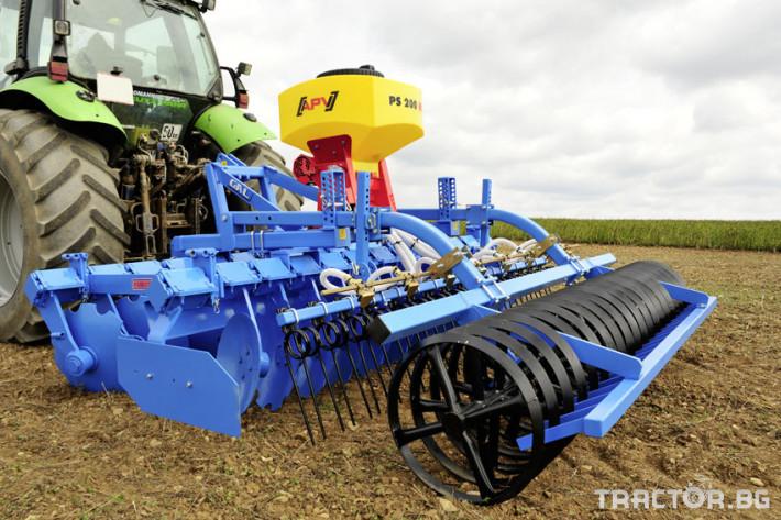 Сеялки Апликатор APV PS 120/200/300 за семена и микрогранули 4 - Трактор БГ