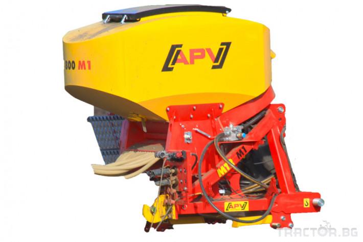 Сеялки Апликатор APV PS 800 за семена и торове 7 - Трактор БГ